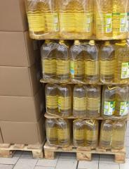 Aceite girasol exportación