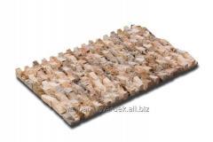 Travertine Mosaic - Labyrinth