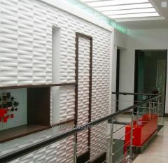 3D Fire-prevention wall panels - VD108