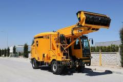 RMH and CELIKEL  . SELF-PROPELLED FEED MIXER 21 м3