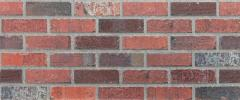 Brick wall panels from factory production of