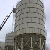 Ins cts - 1000-2000-3000 ton kapasiteli civatalı çimento siloları