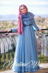 Muslima Wear French Chiffon Dress