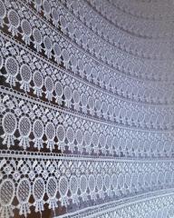 Guipure lace factory