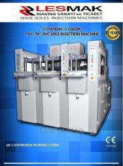 LM 1-3 EXTRUSION SYSTEM TPU , TR , PVC SOLE