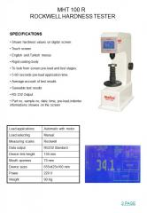 HARDNESS TESTER DEVICES
