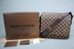 Louis Vuitton Damier Graphite District Erkek Portföy Çantası