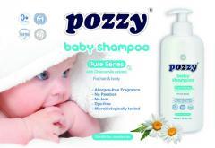 New Born Baby Shampoo Pozzy 400ml. (Детский шампунь  Pozzy 400ml.)