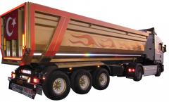 Grain type Tipper 8.60 dump trailer