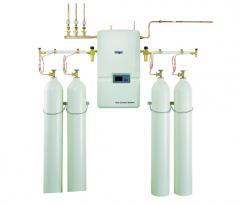 Equipment for oxygen lines