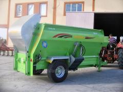 Cattle Feed Mixer Wagon 8m3