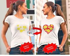 Color Shifters Nanotechnological T-Shirts