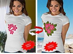 Renk Değiştiren Nano Teknolojik T-Shirts