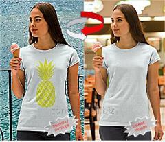 Güneşte Renk Değiştiren Nano Teknolojik T-Shirts