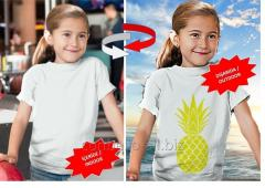 Trend Renk Değiştiren Nano Teknolojik T-Shirt