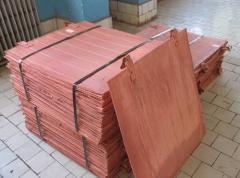 Copper slabs