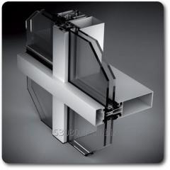 CAPPED CURTAIN WALL SYSTEM