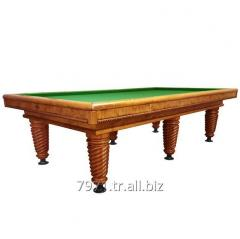 9FT GROOVED CAROM BILLIARD TABLE