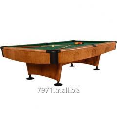 9FT ELLIPTIC POOL BILLIARD TABLE