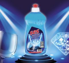 Bulaşık makineleri için parlatıcılar SES, 500 ml