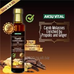 Carob Extract with Propolis and Ginger Extract
