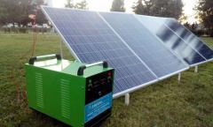 SOLAR MOBILE GENERATOR (Portable Solar Power