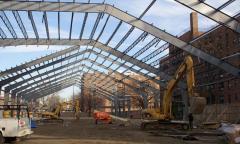 Çelik konstruksiyon yapı sistemleri