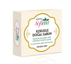No Scent Natural Soap White