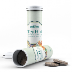 TeaHot Effervescent tea tablet with Ginger