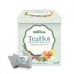 Ginger Flavour Effervescent Tea Tablet