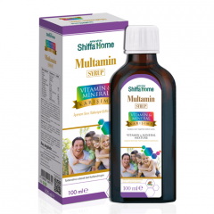 Multivitamin Syrup with Orange Flavour