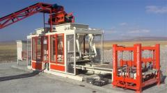 Equipment for the production of paving stones