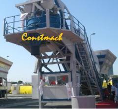 Constmach 30 m3/h Mobil Beton Santrali
