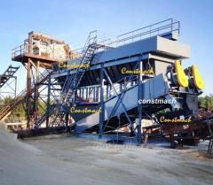 Constmach 300 TPH Sand Washing Machine