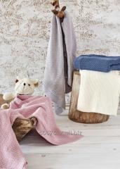Organik Pamuk Bebek Battaniyesi- Baby Smile