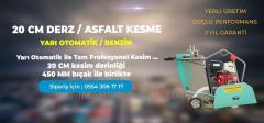 ASFALT-BETON KESME MAKİNASI