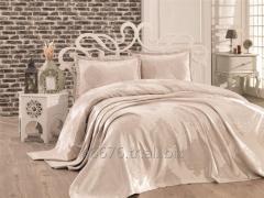 Şönilli Çift Kişilik Yatak Örtüsü - Armoni