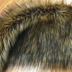 Wolf fur