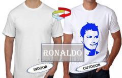 Pamuklu Renk Değiştiren Ronaldo T-Shirt