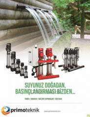 Pompa-Hidrofor Kontrol ve Bağlantı Ekipmanları / Water Pumps and  Booster Systems and equipments