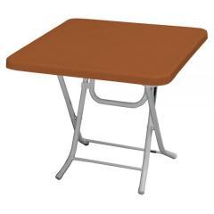 TORRE 70x70cm SHORT PLASTIC TABLE