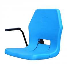 PERLA-K BLOW MOULDED & FOLDING STADIUM SEAT WITH ARMREST