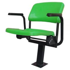 LUPO-KY FOLDING STADIUM SEAT WITH ARMRESTS FLOOR MOUNTED