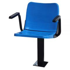 VELLUTO FOLDING STADIUM SEAT WITH ARMRESTS FLOOR MOUNTED