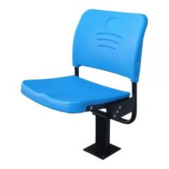 FORZA-Y BLOW MOULDED & FOLDING STADIUM SEAT FLOOR MOUNTED