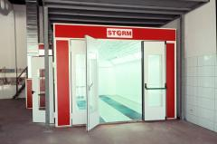 STORM 7000 HT Painting And Drying Booth (Spraybooth)