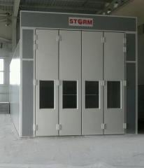 STORM 9000 Commercial Vehicle Painting and Drying Booth (Spraybooth)