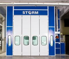 STORM 12000 Bus Painting and Drying Booth (Spraybooth)