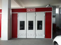 STORM 6000 Double Fan Painting And Drying Booth (Spraybooth)