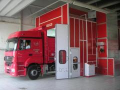 Storm 15000 Bus/Truck Painting and Drying Booth (Spraybooth)